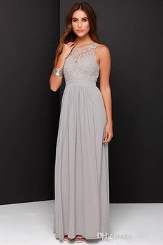 I found some amazing stuff, open it to learn more! Don't wait:http://m.dhgate.com/product/new-gray-beach-bridesmaid-dresses-2016-lace/388127674.html