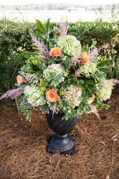 Hilton Head Weddings - Oldfield River Club - Pink, Green and Coral - Fleurish of Statesboro, Jill Doty Photography, Dewey's Delights - Lowcountry Wedding