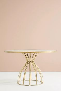 Seaford Pedestal Dining Table | Anthropologie Hanging Furniture, Dining Room Furniture, Furniture Design, Plywood Furniture, Chair Design, Design Design, Painted Furniture, Furniture Ideas, Modern Furniture