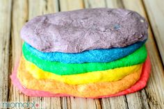 DIY Rainbow Bagel Recipe that will blow your kids mind in the morning. Create Melted Rainbow bagels with this easy to follow recipe tutorial right from your own kitchen .