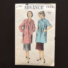 McCALL/'S PATTERN COSTUME 1950s JACKET SKIRT TOP SCARF IN SIZES 4--22 # M6234