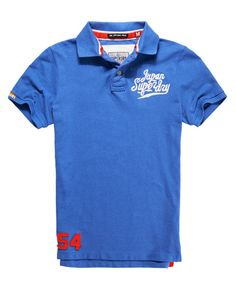 Superdry Applique Polo - Men's Polo Shirts
