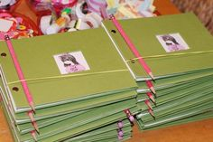 American Girl / Birthday - great party favor idea if I can find cheap craft books