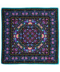 "Liberty London, Lodden Silk Neckerchief - ""An arts and crafts classic."" James Millar, Head of Design of Liberty London. Shop Liberty London scarves: http://www.liberty.co.uk/fcp/categorylist/dept/liberty-london_scarves"