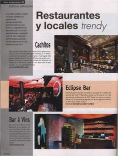 Locales trendy! Ustedes si que son trendy
