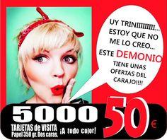 Imprenta Demonio Rojo - Móstoles  Imprenta barata ,flyers, folletos, fotocopias, tarjetas, camisetas, lonas, rotulos, diseño...   C/ Baleares, 37  Tfno: 91 646 48 25  http://www.eldemoniorojo.es/