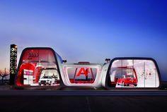 Audi A1 Concept Showroom