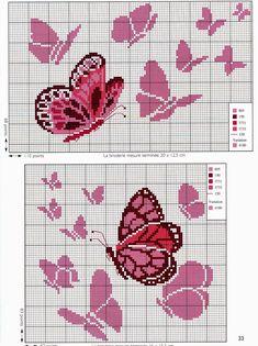 farfalle+a+punto+croce+(3).jpg 1.196×1.600 pixels
