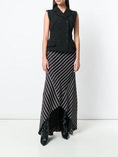 Haider Ackermann длинная юбка в полоску