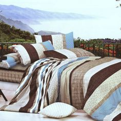 Blancho Bedding Blancho Bedding - Wonderful Life 100 Cotton Comforter Cover-Duvet Cover Combo Queen Size Wonderful Life 100 Cotton C. King Size Comforter Sets, Down Comforter, Comforter Cover, Duvet Cover Sets, Pottery Barn, Brown Duvet Covers, Bed Covers, Twin Beds For Boys, Teen Boy Bedding