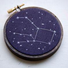 constellation cross stitch