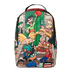 Sprayground - Will be back soon. Backpack Purse, Laptop Backpack, Laptop Bags, Cute Backpacks, School Backpacks, Arnold Cartoon, Spray Ground, Hey Arnold, Purses And Bags