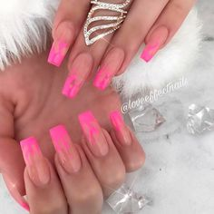 New Trend – Unusual French Nails ❤ 35+ Magnificent Coffin Nails Designs You Must Try ❤ See more ideas on our blog!! #naildesignsjournal #nails #nailart #naildesigns #nailshapes #coffinnails #balerinanails #coffinnailshapes