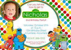 Abby Cadabby Birthday Invitation Sesame Street Birthday Invitation
