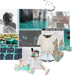 """Summer Paradise♥"" by rebeccazw on Polyvore"