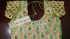 Blouse Neck Designs, Blouse Patterns, Aari Work Blouse, Ethnic Outfits, Embroidery, Stitching, Blouses, Sarees, Dolls