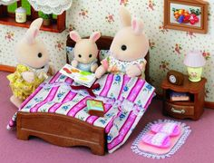 Sylvanian Families Semi Double Bed - great prices at Sylvanian Specialty Store