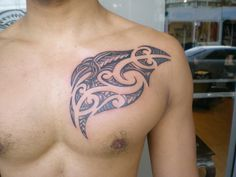 Chest Tattoos Designs For Men | Showcase of Maori Tattoo Designs 2011 Maori Tattoo Design for Chest ...