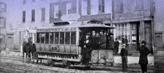 On November 14, 1832, the first streetcar went into operation in New York City. The vehicle was horse-drawn and had room for 30 people.