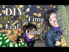 ▶ FIMO Blatt (Cane): Polymer Juicy Leaves - Tutorial [HD/DE] (EN-Sub) - YouTube