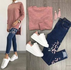 Tap the link my bio to shop this . Casual Work Outfits, Outfits For Teens, Trendy Outfits, Fall Outfits, Cute Outfits, Fashion Mode, Hijab Fashion, Teen Fashion, Korean Fashion
