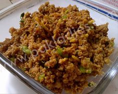 How to Cook Fry Keema (Mince), English / Urdu Recipe