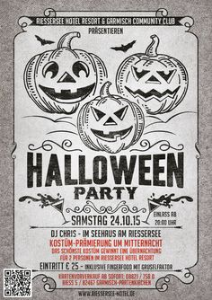 Halloween-Party im Seehaus am Riessersee; Riessersee Hotel Resort, Garmisch-Partenkirchen am 24. Oktober 2015