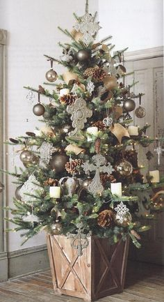Tree planters, Planters and Christmas trees on Pinterest