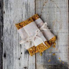 Pumpkin Spice Granola Bars - Oh Sweet Basil