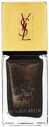 LA LAQUE COUTURE Nail Lacquer #15things #trending #fashion #style #beauty #gold #nails #ysl