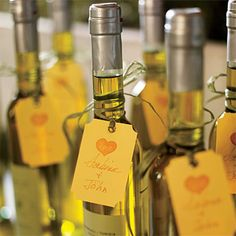 Olive Oil Wedding Gift