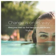 Moving On Quotes :    QUOTATION – Image :    Quotes Of the day  – Description  Change is on its way. Keep your head up. God has a good plan for you.  Sharing is Power  – Don't forget to share this quote !  - #Movingon https://hallofquotes.com/2017/08/21/moving-on-quotes-change-is-on-its-way-keep-your-head-up-god-has-a-good-plan-for-you/