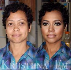 Before and After#maquiagem é tudo!