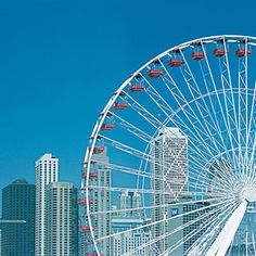 Chicago Ferris Wheel - It gives me butterflies just looking at it.