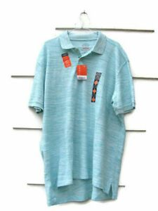 """St John's Bay Men's Performance Polo Shirt Short Sleeve White Green Size XXL NWT 00418 Measurement: shoulder 22"""" sleeve 9 3/8"""" armpit 52"""" overall length 31"""" Features: Quick-Dri, Easy Care, Shrink Resistant, Fade Resistant, Non-Roll Collar Orange Shorts, Striped Shorts, Green Polo Shirts, St John's, Short Sleeve Polo Shirts, Mens Xl, Sleeves, Mens Tops, Clothes"""