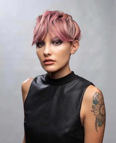 The Most Admired Pixie Haircut with Short Hairstyle - - Short Hairstyles - Hairstyles 2019 Round Face Haircuts, Short Pixie Haircuts, Pixie Hairstyles, Down Hairstyles, Trendy Hairstyles, Short Hair Cuts, Straight Hairstyles, Wedding Hairstyles, Guy Haircuts
