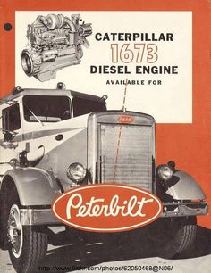 like a Pete with a Cat!Nothing like a Pete with a Cat! Mack Trucks, Peterbilt Trucks, Big Rig Trucks, Cool Trucks, Semi Trucks, Custom Peterbilt, Antique Trucks, Vintage Trucks, Vintage Advertisements