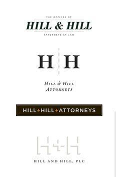 Kitchen Sink Studios | Hill & Hill Logo Concepts