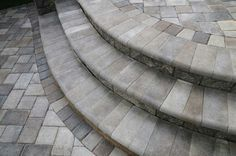 Willow Creek Paving Stones offers premium concrete interlocking paving stones for residential and commercial landscaping and hardscaping projects. Tile Steps, Brick Steps, Patio Steps, Limestone Paving, Concrete Pavers, Pavers Patio, Poured Concrete, Walkway, Front Door Steps