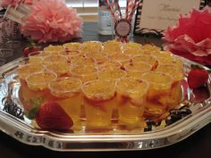 Champagne Jello Shots for New Years Eve!