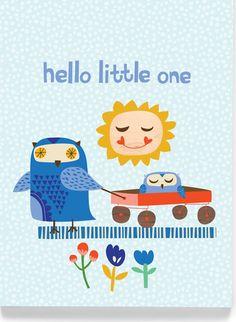 'Hello Little One' by Carolyn Gavin