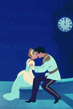 Cinderella...i would hang this up somehwere along with other disney kisses