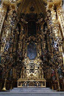 Jerónimo de Balbás, Altar of the Kings