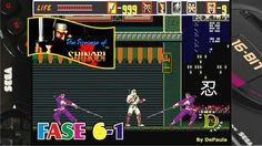 The Revenge of Shinobi (Mega Drive) Gameplay Fase 6-1