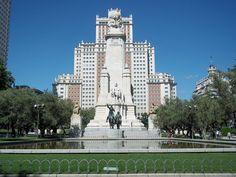 madrid spain | monument Madrid Spain