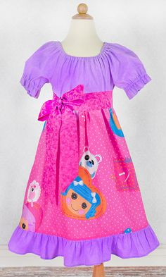Custom Lalaloopsy Ruffle Dress by mghtaswelldance on Etsy, $38.00