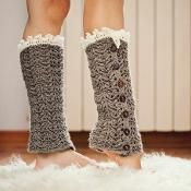 Crochet pattern - Luxury Leg Warmers - via @Craftsy