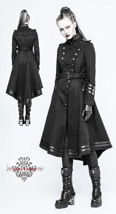 【楽天市場】【XS-2XL】【送料無料】JX396★ナポレオンコート★【返品不可】・:glareshop(グレアショップ):・ゴシック パンク ロック ファッション ヴィジュアル系 ファッション V系 ファッション ゴスロリ コート ゴシック コート V系 コート:glareshop(グレアショップ) Punk Rock Outfits, Gothic Outfits, Cool Outfits, Dark Fashion, Gothic Fashion, Lolita Fashion, Fashion Boots, Style Fashion, Armor Clothing