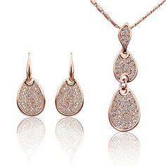 Virgin Shine 18K Gold Plated Rhinestones Beans Earrings Necklace Sets VIRGIN SHINE http://www.amazon.com/dp/B00LDU2126/ref=cm_sw_r_pi_dp_ZQrrub1EFVSHH