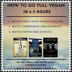 For our #VeganCurious friends who would like to know more about veganism. These films will help you understand the many benefits that this lifestyle has & why so many of us have chosen it. Earthlings is available on YouTube, Cowspiracy & Forks Over Knives are on Netflix. -@longe_daqui #InstagramTakeover #vegan #health #fitness #vegansmart #Earthlings #Cowspiracy #ForksOverKnives #TheMoreYouKnow